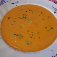 German Potato Carrot Soup - Authentic Recipe
