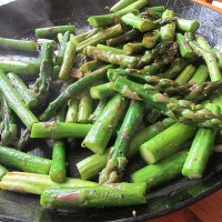 Summer Vegetable Recipe: Fried Green Asparagus