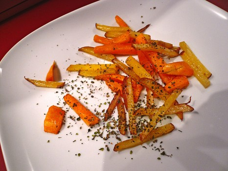 potato pumpkin wedges