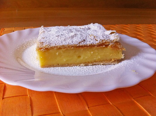 cremeschnitte without filo dough