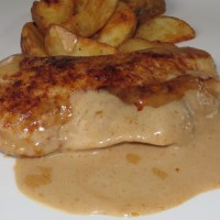 German Rahmschnitzel - In a Creamy Sauce