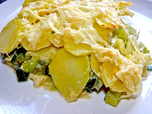 Potato Leek Gratin - Best German Casserole • Best German ...