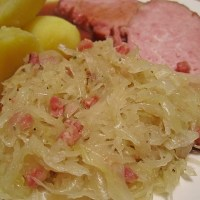 Sauerkraut Westphalia Style - Authentic German