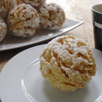 German Snowball Pastry from Rothenburg