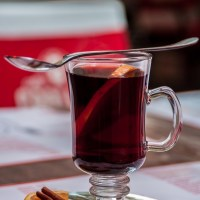 German Mulled Wine Gluhwein for the Holidays
