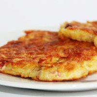 German Sauerkraut Potato Pancakes