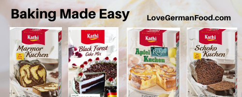german baking mixes