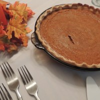 Pumpkin Pie German Style for the Holidays