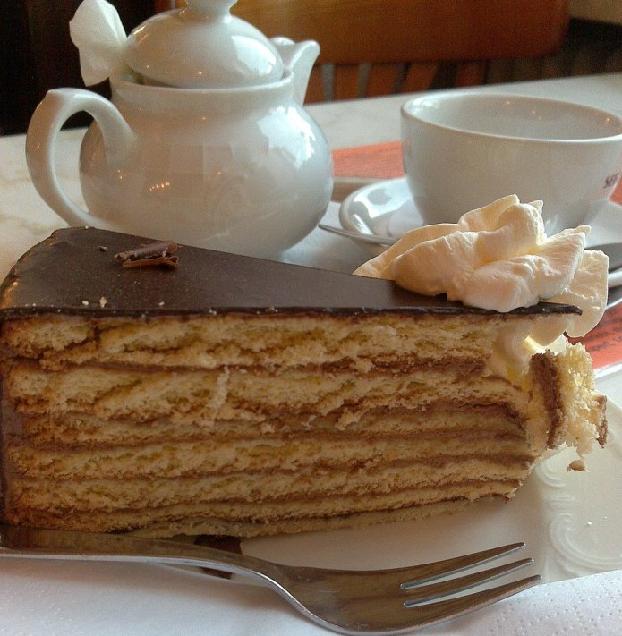 Prinzregententorte - Bavarian Layered Chocolate Cake