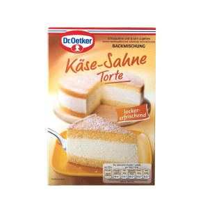 german cream cheese cake baking mix