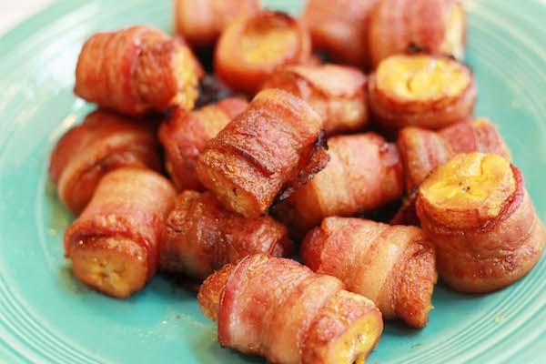 My Big Fat Cuban Family - Bacon Wrapped Plantains Recipe