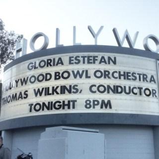 We Did the Conga at the Hollywood Bowl. Thank you, Gloria.