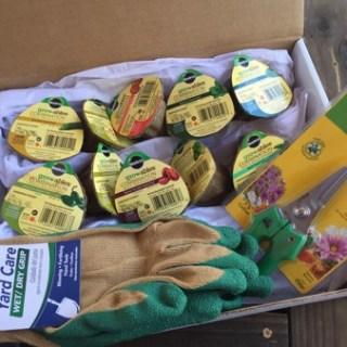 Veggie & Herb Garden Starter Package Winners