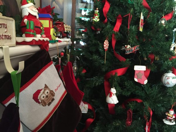 My Big Fat Cuban Family Stockings and Christmas tree