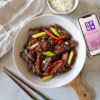 MONGOLIAN BEEF RECIPE WITH GAFOOR PURE HALAL