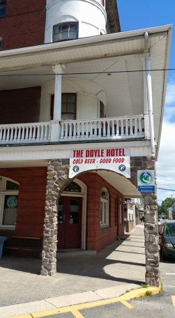 The Doyle Hotel in Duncannon