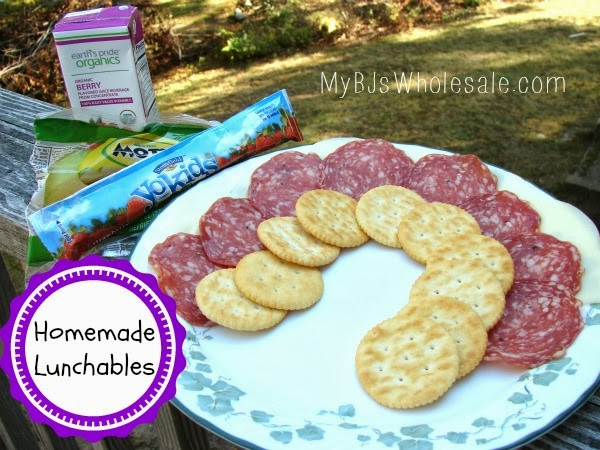 how to make your own lunchables with ingredients from BJs