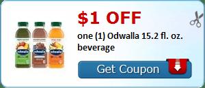 $1.00 off one (1) Odwalla 15.2 fl. oz. beverage