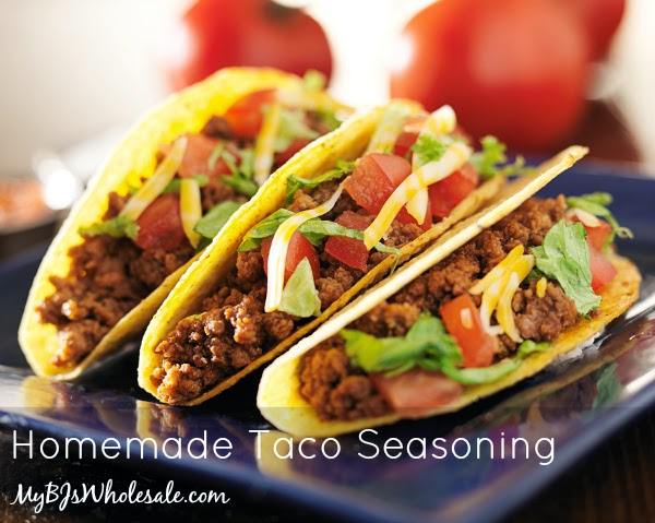 Deals to Meals: Homemade Taco Seasoning Mix