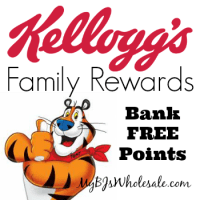 Kellogg's Family Rewards: Bank 49 Points