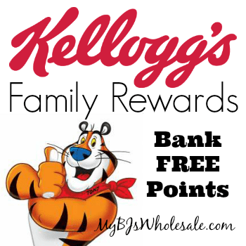 Kellogg's Family Rewards: Bank 100 Points