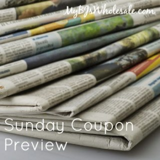 Sunday Coupon Preview for 2/1/15