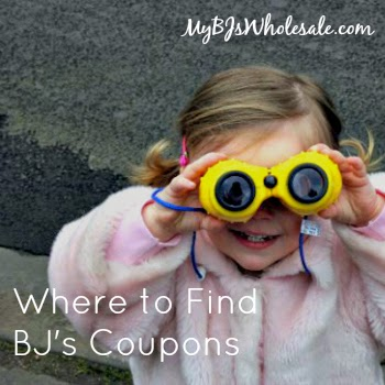 Where to Find BJs Coupons