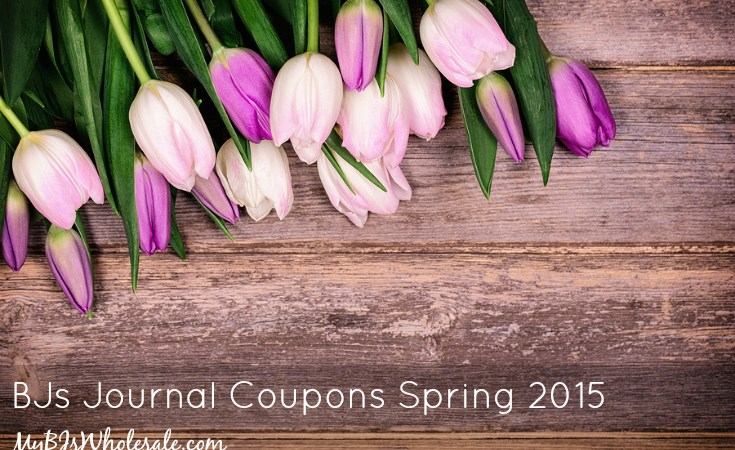 BJs Journal Coupons and Deals for Spring 2015