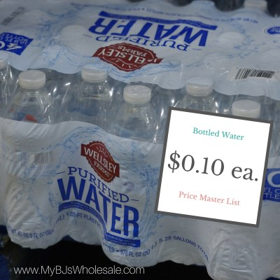 must buy items at BJ's wholesale club