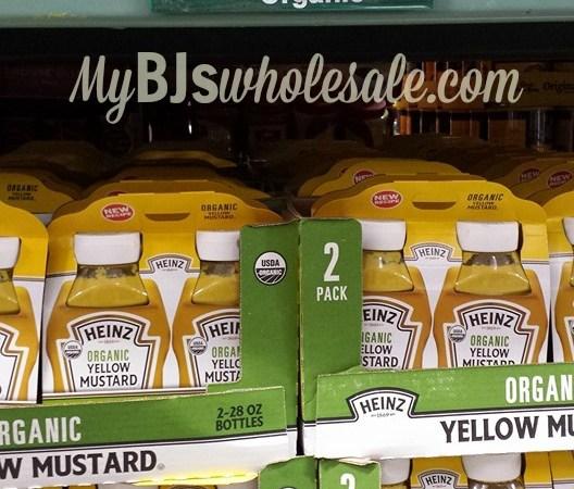 heinz organic mustard