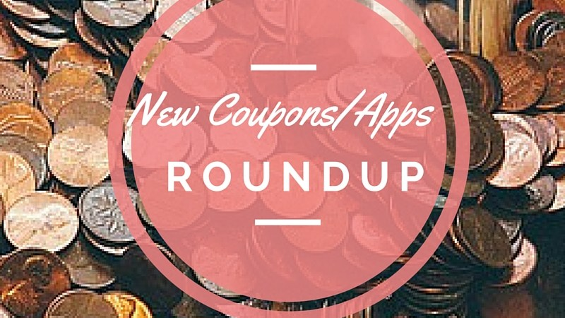 roundup of new coupons