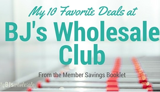 Best BJ's Deals for the week