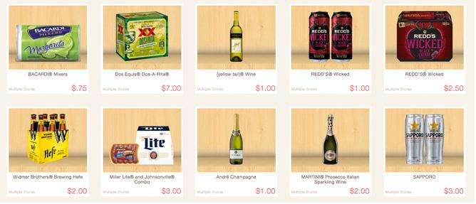 ibotta beer alcholo rebates at BJs wholesale club