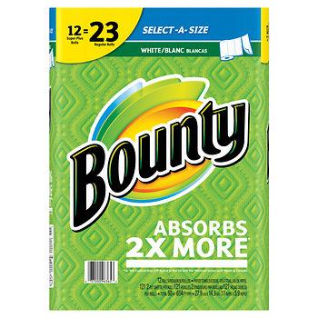Bounty paper towel coupons at BJs
