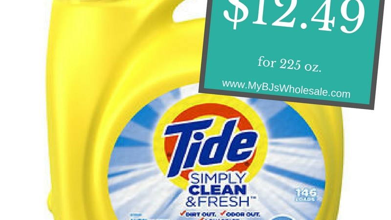 Tide Simply New Coupons
