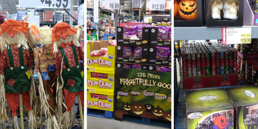 halloween decor deals at BJs wholesale club