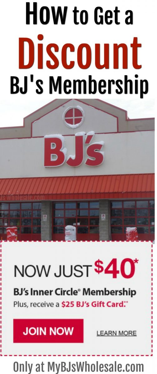 BJ's Wholesale raised membership fees in Jan. 2018 but the master BJ's Club shopper is still able to offer a $ 40-year membership PLUS a $25 BJs gift card. Awesome deal.  #howtoget #bjswholesaleclub #membership #discount #shoppingtips #deals