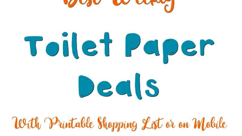 toilet paper deals