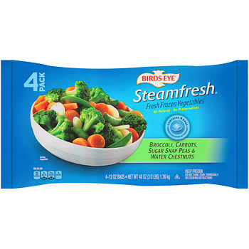 Birds eye steamfresh at BJs WHolesale Club