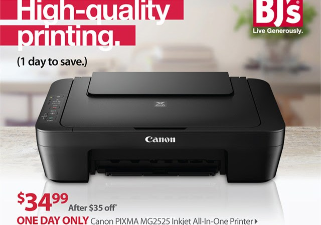 canon printer deal at BJ's Wholesale Club