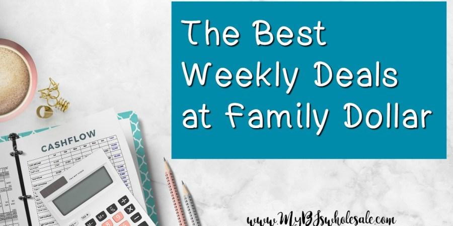 Family Dollar Weekly Coupon Matchups