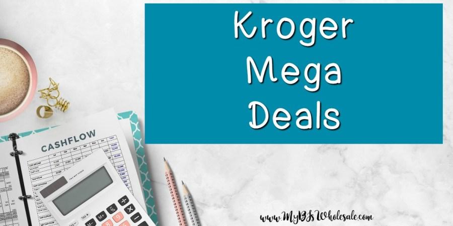 Kroger Mega Deals this week