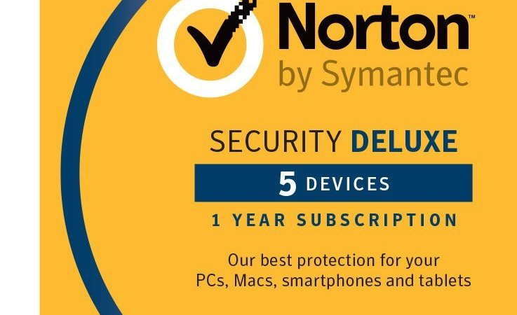 norton security delux on sale on Amazon