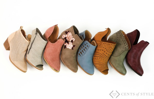 spring booties