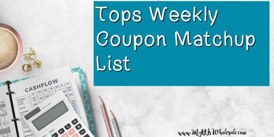 Tops Weekly Coupon Matchups