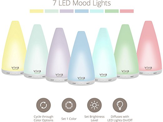 Viva essential oil diffuser sale on Amazon