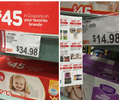 huge list of discontinued items at BJs Wholesale club