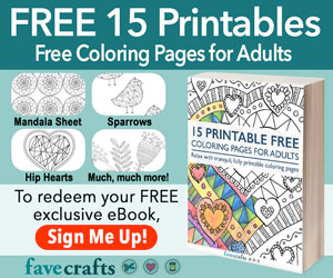 15 free adult coloring pages