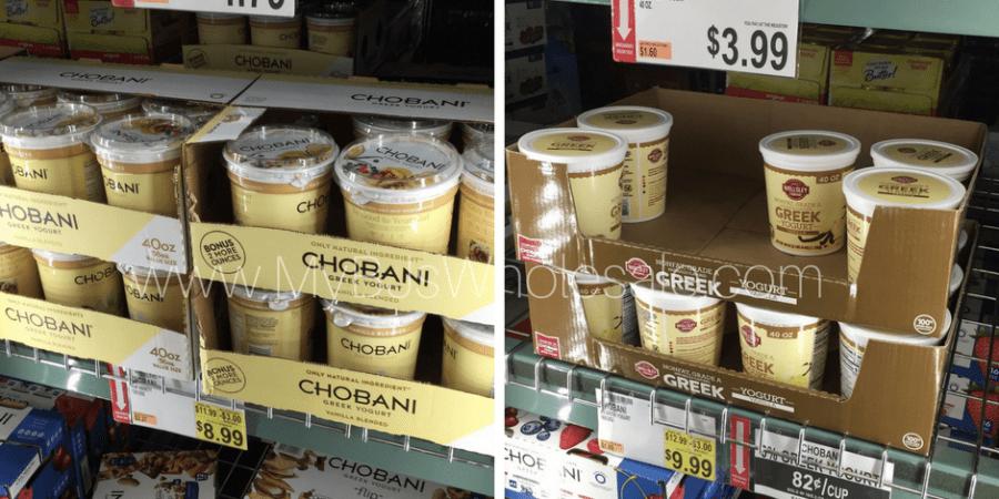 wellsley farms greek vanilla yogurt new item