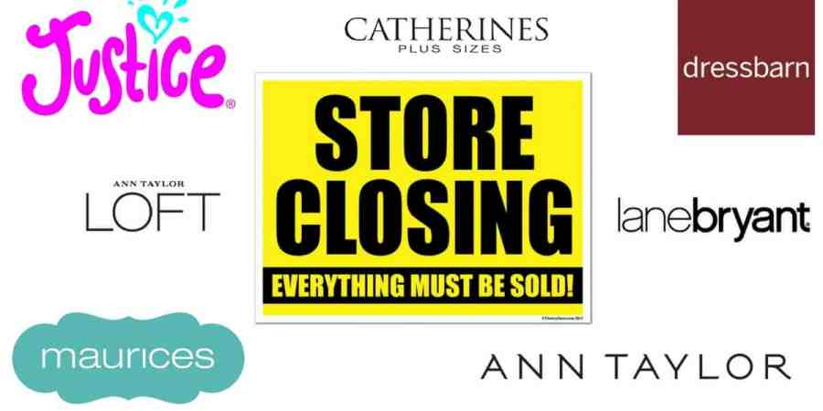 store closings ann taylor lane byrant and more